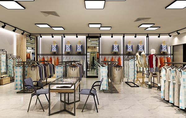 西安服装店装修设计